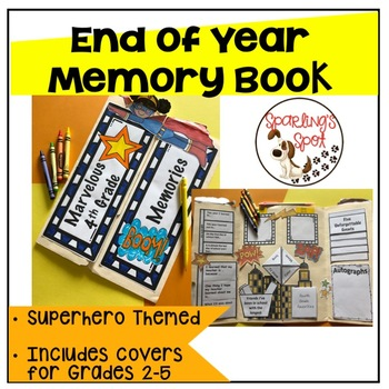 End of Year Memory Lap Book - Grades 2-5