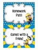 Colorful Minion Reward Coupons