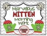 Marvelous Mitten Morning Work