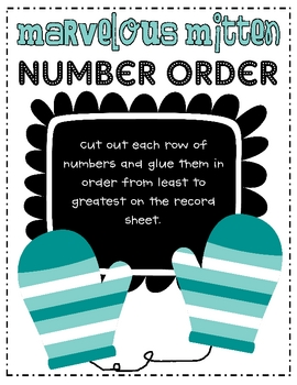Marvelous Mitten Number Order