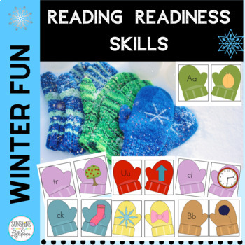 Winter Mitten Theme Activities and Skills for Reading Readiness