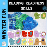 Phonics:Marvelous Mitten Reading Readiness Skills Match-Up