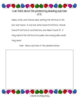 Marvelous Mittens: Problem Solving Strategies with The Common Core