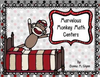 Marvelous Monkey Math Centers