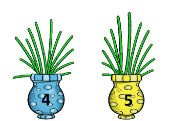 Marvelous Multiple Flowers and Vases, 4 and 5s