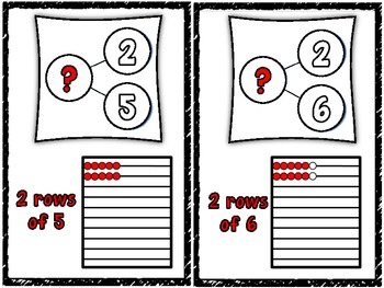 Marvelous Multiplication Number Bond and Rekenrek Cards