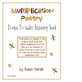 Marvelous Multiplication Poetry