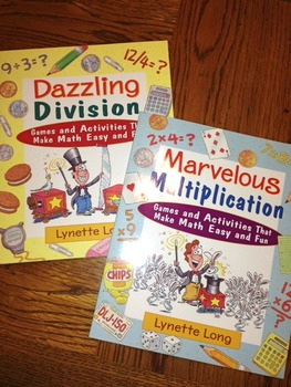 Marvelous Multiplication and Dazzling Division -Double pack of books