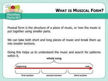Marvelous Musical Deli - Welcome to the Deli!  An Introduction to Form in Music