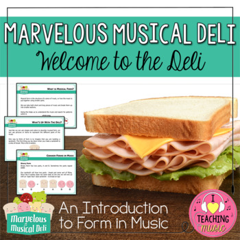 Marvelous Musical Deli - Welcome to the Deli!  An Introduc