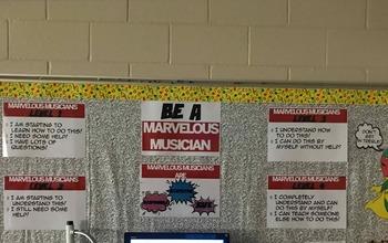 Marvelous Musician Music Room Bulletin Board BUNDLE Pack