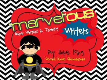 """Marvel""ous Writers: An Adjective Study and Descriptive Writing Unit"
