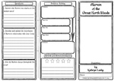 Marven of the Great North Woods Comprehension Foldable