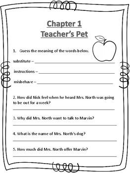 Marvin Redpost 4, Alone in Teacher's house