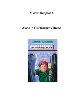 Marvin Redpost #4 Alone in his Teacher's House