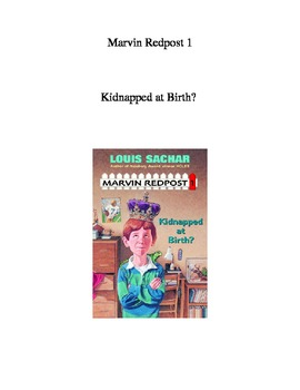 Marvin Redpost #1 Kidnapped At Birth