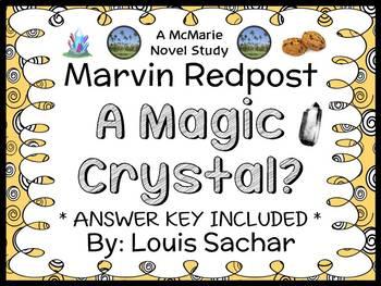 Marvin Redpost: A Magic Crystal? (Sachar) Novel Study / Reading Comprehension