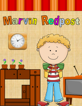 Marvin Redpost Activity Packet