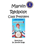 Marvin Redpost Class President  Book Study