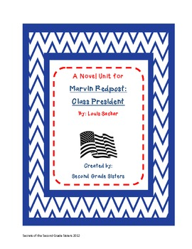 Marvin Redpost: Class President--Election Novel Study