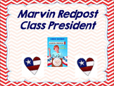 Marvin Redpost Class President End of book Test Mini Unit