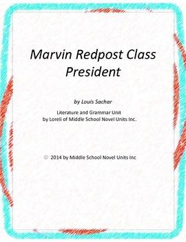 Marvin Redpost Class President Literature and Grammar Unit