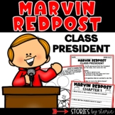 Marvin Redpost Class President   Printable and Digital