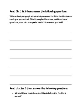 Marvin Redpost Class President study guide