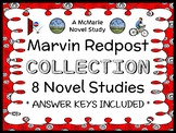 Marvin Redpost COLLECTION (Louis Sachar) 8 Novel Studies / Reading Comprehension