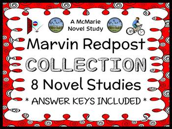 Marvin Redpost COLLECTION (Louis Sachar) 8 Novel Studies /