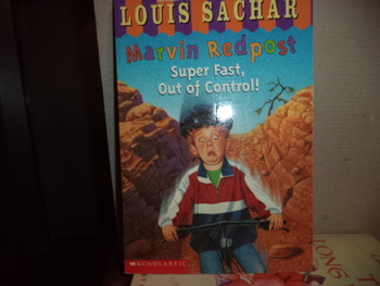 Marvin Redpost Super Fast, Out of Control  ISBN 0-439-10632-X