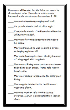 Marvin Redpost: Is He a Girl? (Louis Sachar) Novel Study / Reading Comprehension