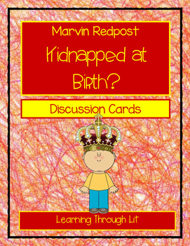 Marvin Redpost KIDNAPPED AT BIRTH? - Discussion Cards