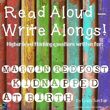Marvin Redpost Kidnapped at Birth? Read Aloud Write Along