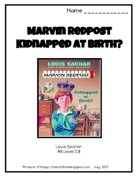 Marvin Redpost Kidnapped at Birth? by Louis Sachar