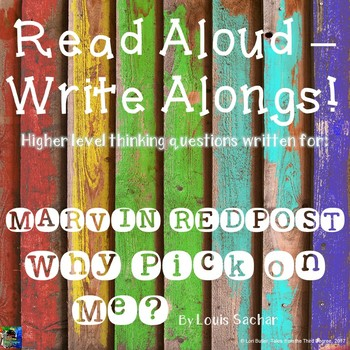 Marvin Redpost Why Pick on Me? Read Aloud Write Along