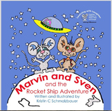 Paperback Picture Book Marvin & Sven + Reproducible Charac