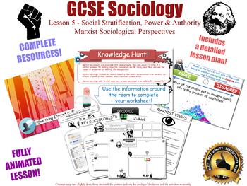 Marx, Marxism, & Marxist Sociology- Social Stratification (GCSE Sociology L5/20)