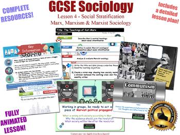 Marxism, & Marxist Sociology- Social Stratification (GCSE Sociology - L4/20)