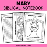 Mary Interactive Notebook Bible Unit