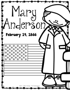 Mary Anderson: Biography Research Bundle {Report, Trifold, & MORE!}