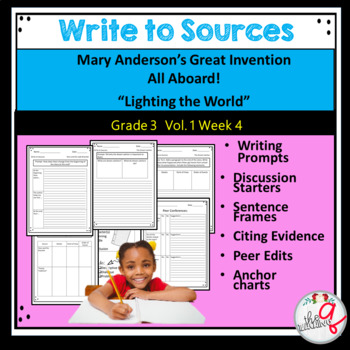 """Mary Anderson's Great Invention, All Aboard!, """"Lighting the World"""""""