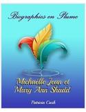 Mary Ann Shad et Michelle Jean