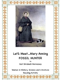 Mary Anning: Fossil Hunter!  A Reading Activity(Distance L