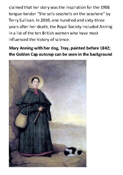 Mary Anning Handout