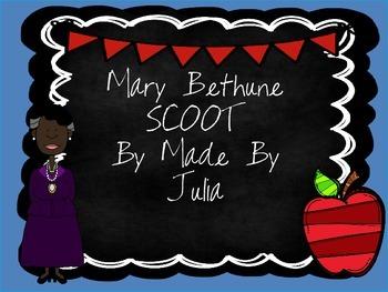 Mary Bethune SCOOT- Great for Georgia Milestone!