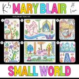 Mary Blair Disney Small World K-5 Kids SIX Visual Arts Les