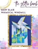 Mary Blair Whimsical Windmill
