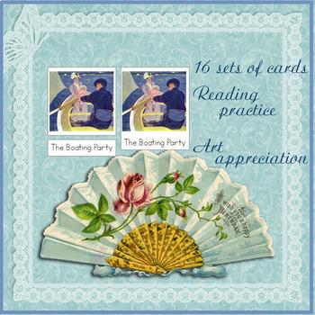 Mary Cassatt - 3 Part Cards - Art Masterpieces