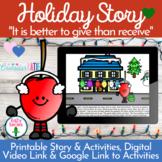 Christmas Activities - Digital Holiday Activities - Social